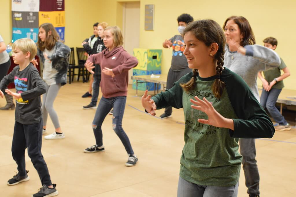 Musical Theatre Choreography Class